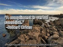 quote complments i verbal sunshine